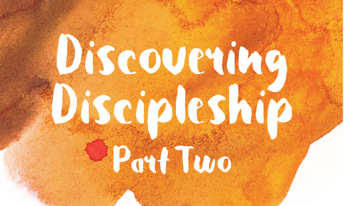 Discovering Discipleship 2