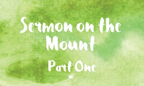 Sermon on the Mount 1