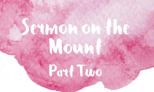 Sermon on the Mount 2